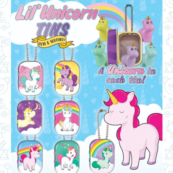 V 50 785 Unicorn Tin Figures