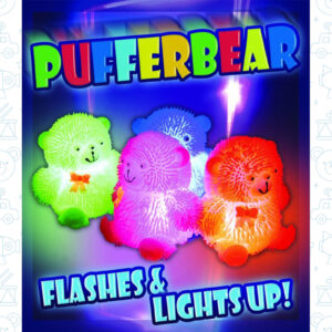 V-65-793 Pufferbear With Light 50 Stuks